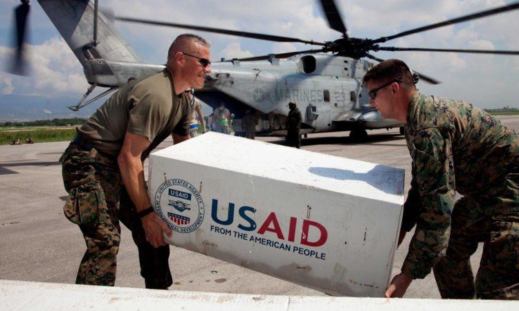 Atgs gava till haiti 1 miljon