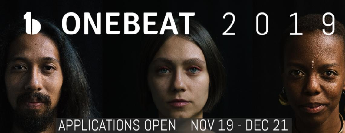 2019 One Beat Program Opens Now!