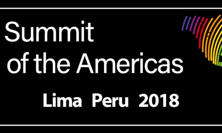 summit of the americas banner