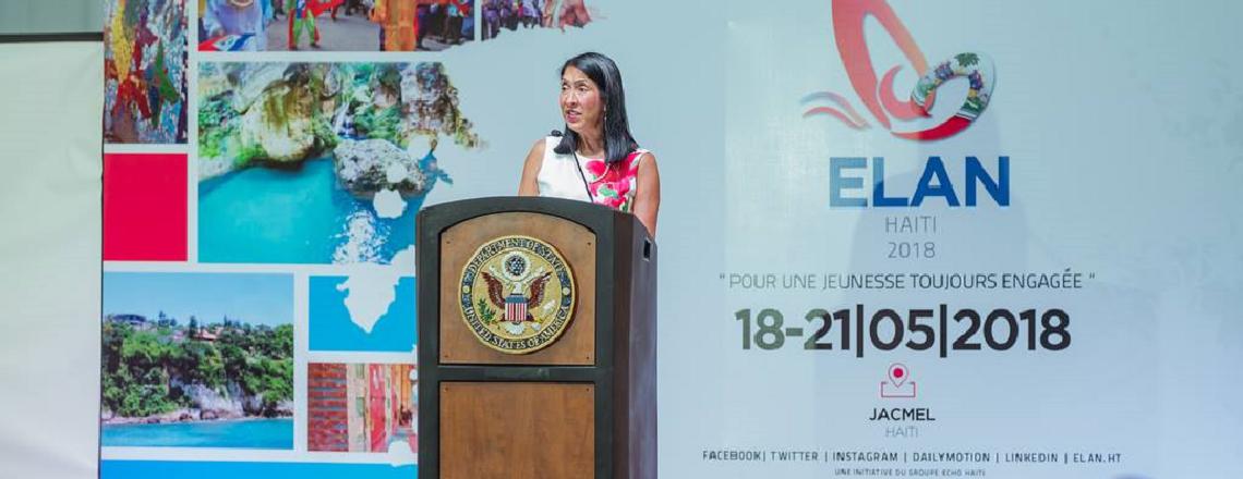 Ambassador Sison's Remarks for ELAN Haiti 2018